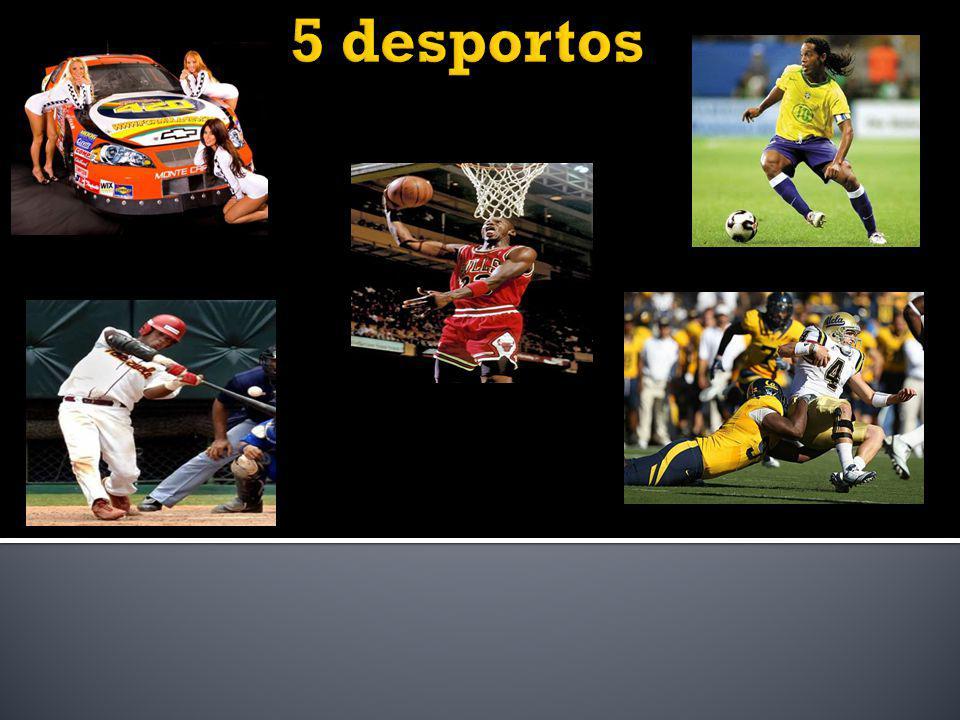 5 desportos