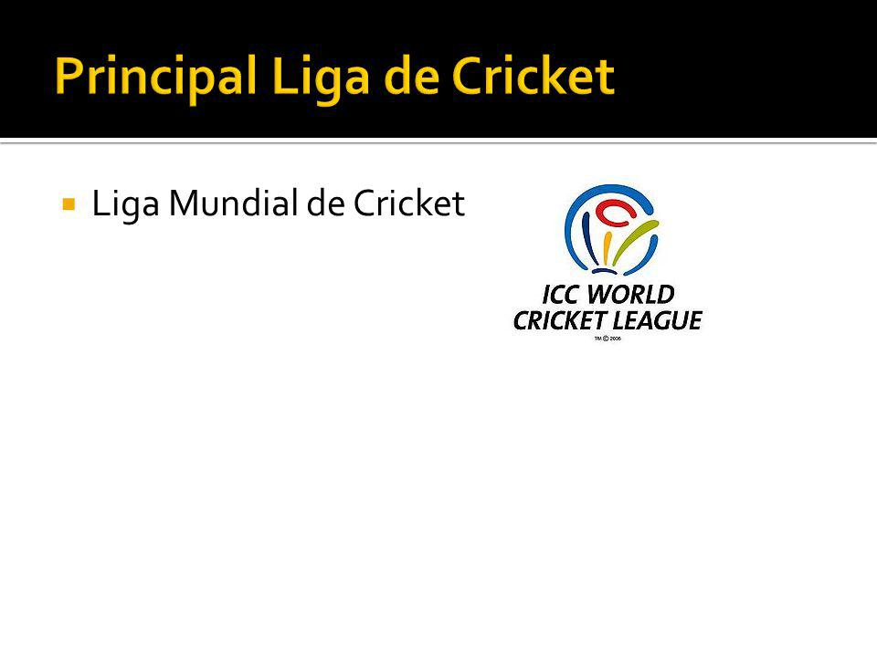 Principal Liga de Cricket