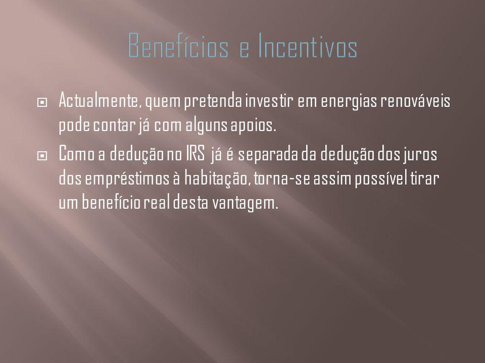 Benefícios e Incentivos