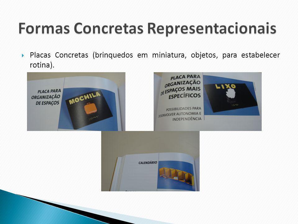 Formas Concretas Representacionais