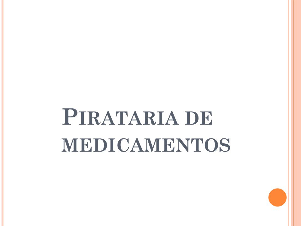 Pirataria de medicamentos