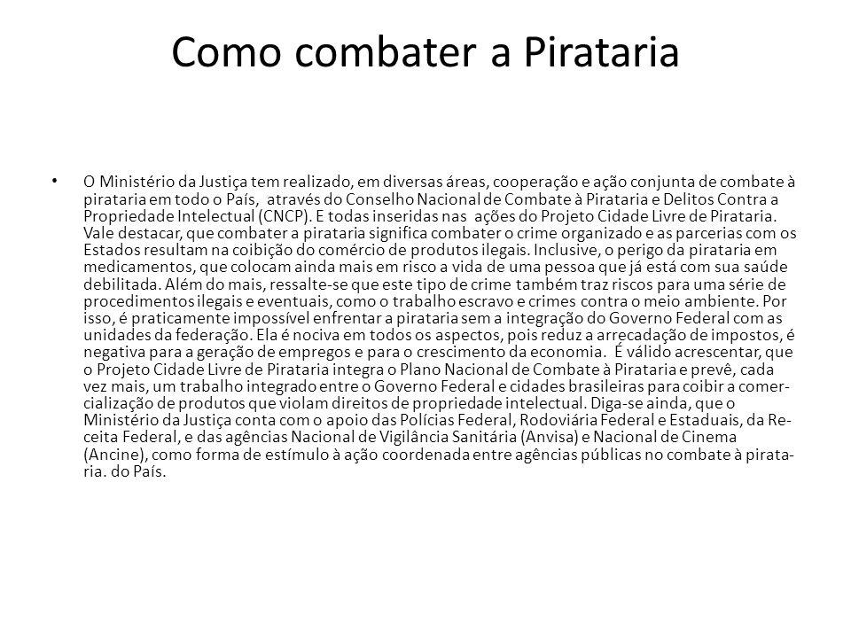 Como combater a Pirataria
