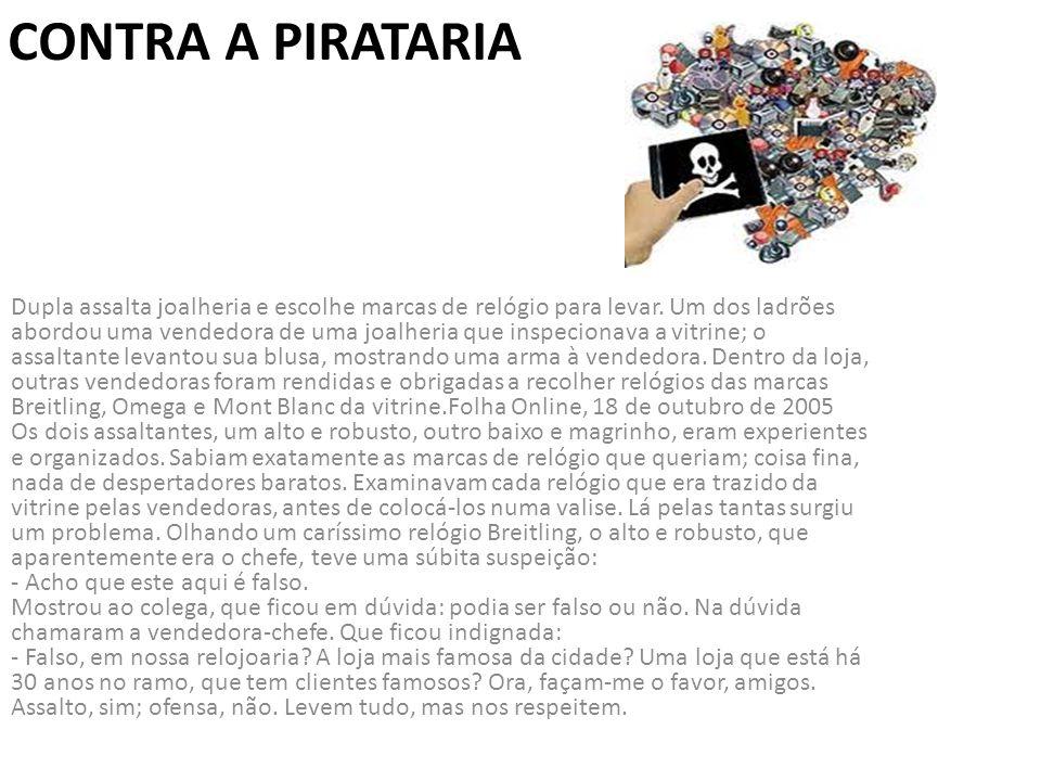 Contra a pirataria