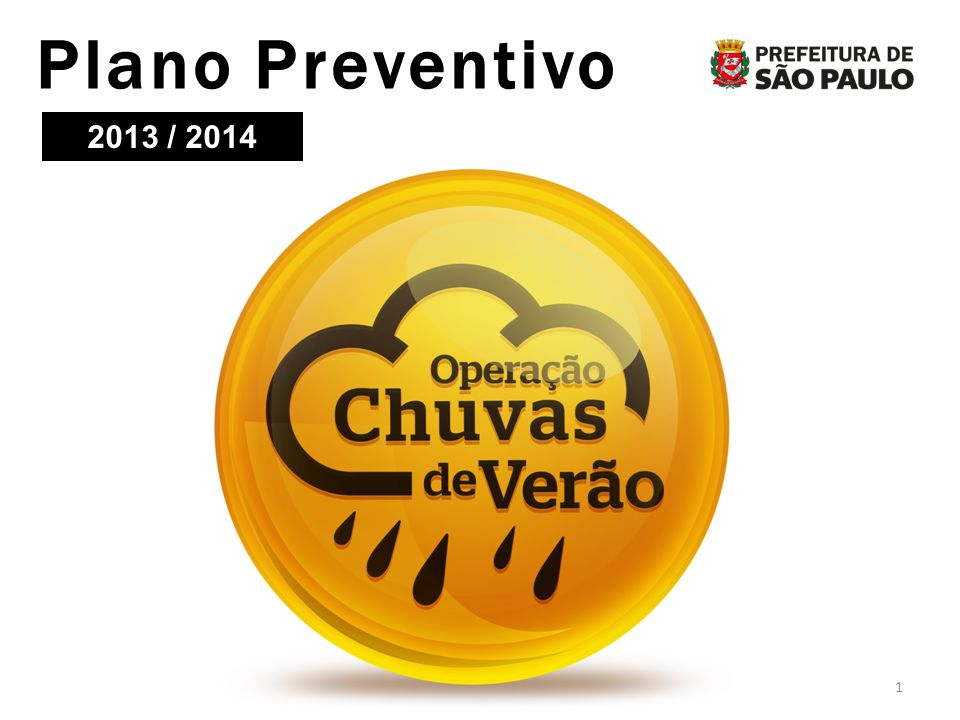 Plano Preventivo 2013 / 2014