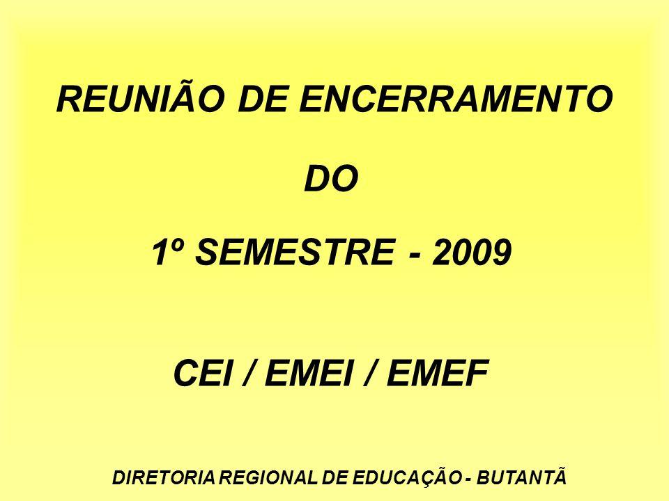 REUNIÃO DE ENCERRAMENTO