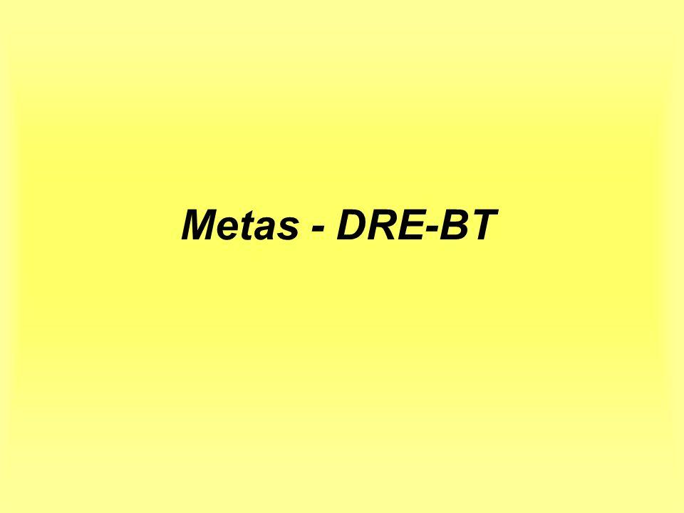 Metas - DRE-BT