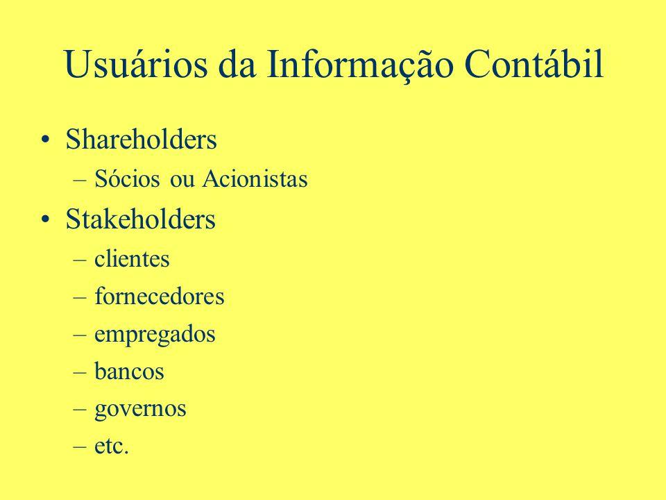Usuários da Informação Contábil