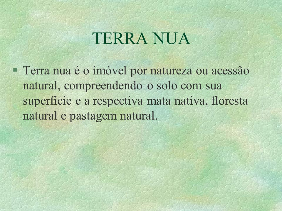 TERRA NUA