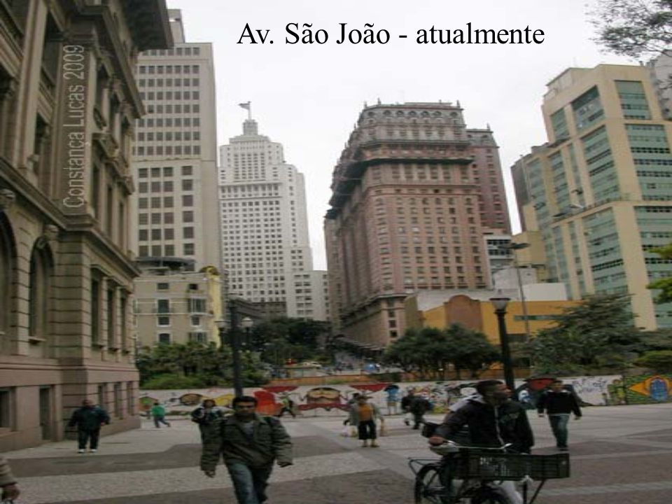 Av. São João - atualmente