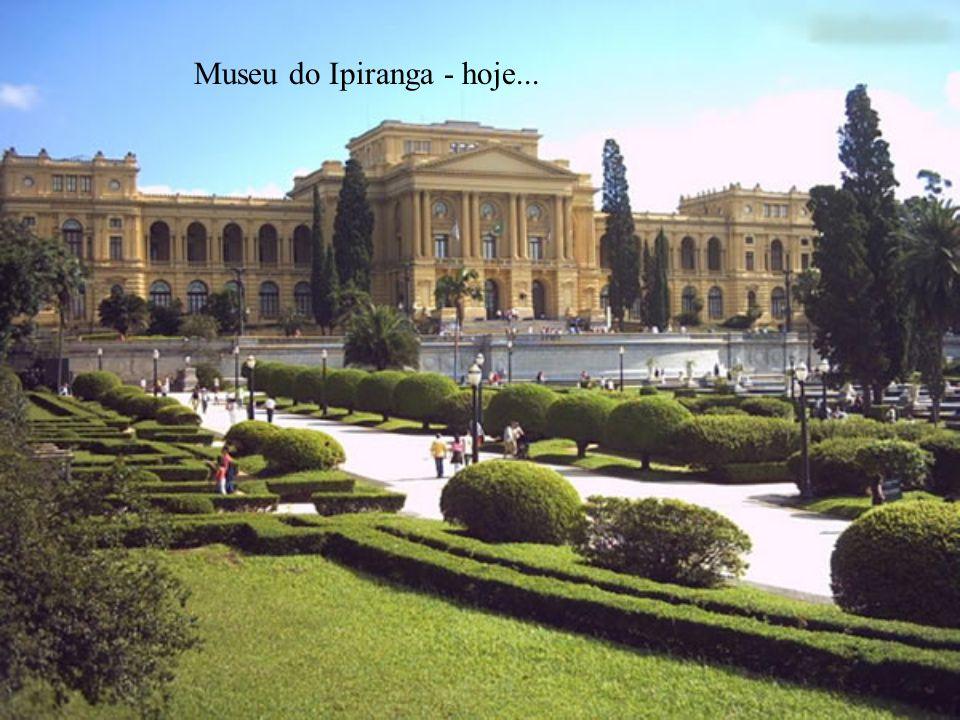 Museu do Ipiranga - hoje...