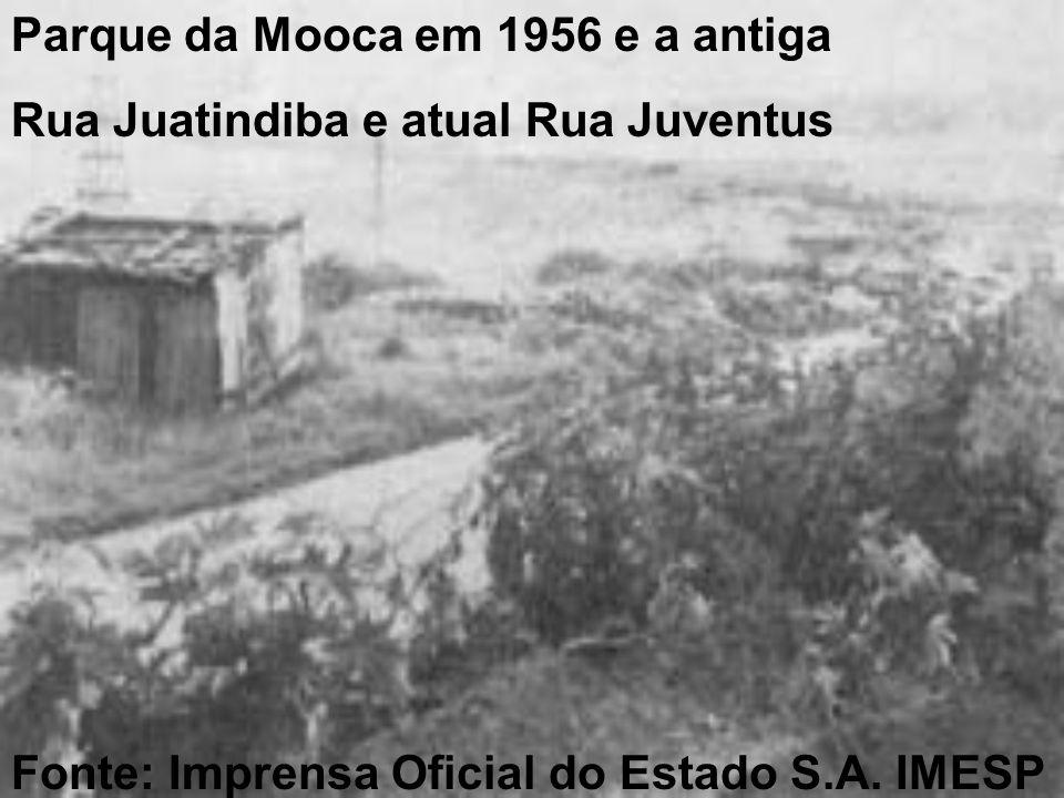 Parque da Mooca em 1956 e a antiga