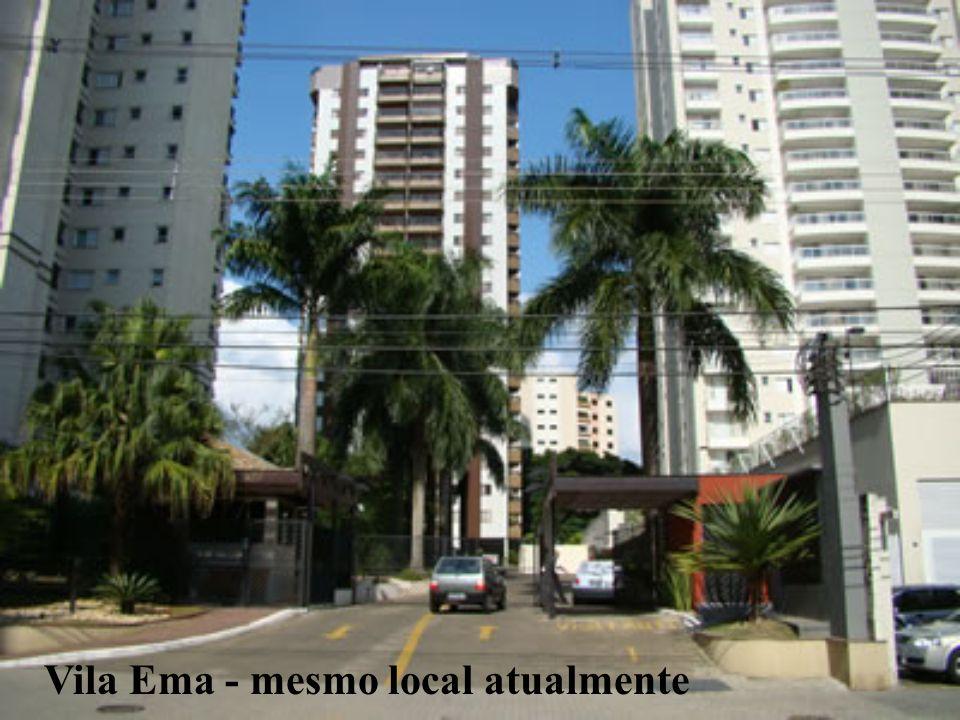 Vila Ema - mesmo local atualmente