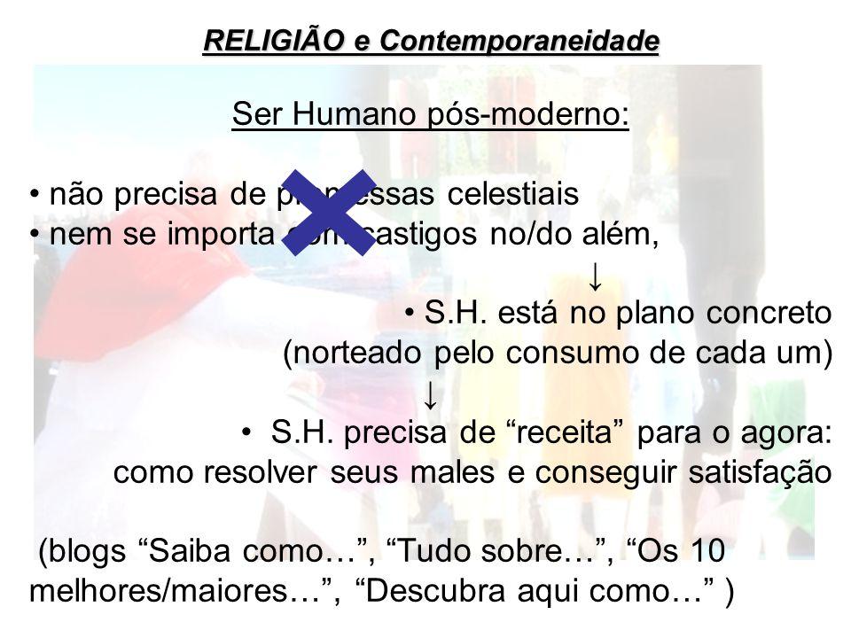 RELIGIÃO e Contemporaneidade
