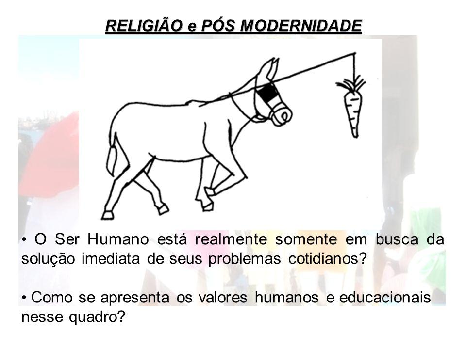 RELIGIÃO e PÓS MODERNIDADE