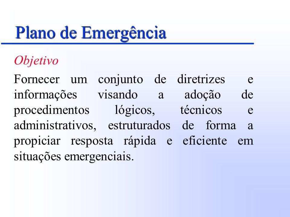Plano de Emergência Objetivo