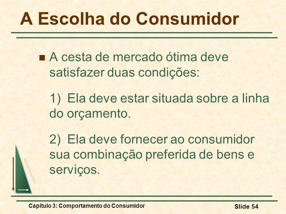 A Escolha do Consumidor