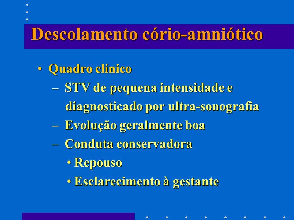 Descolamento cório-amniótico