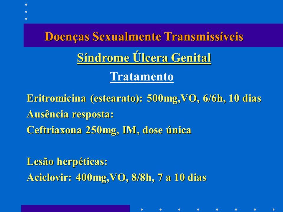 Doenças Sexualmente Transmissíveis Síndrome Úlcera Genital
