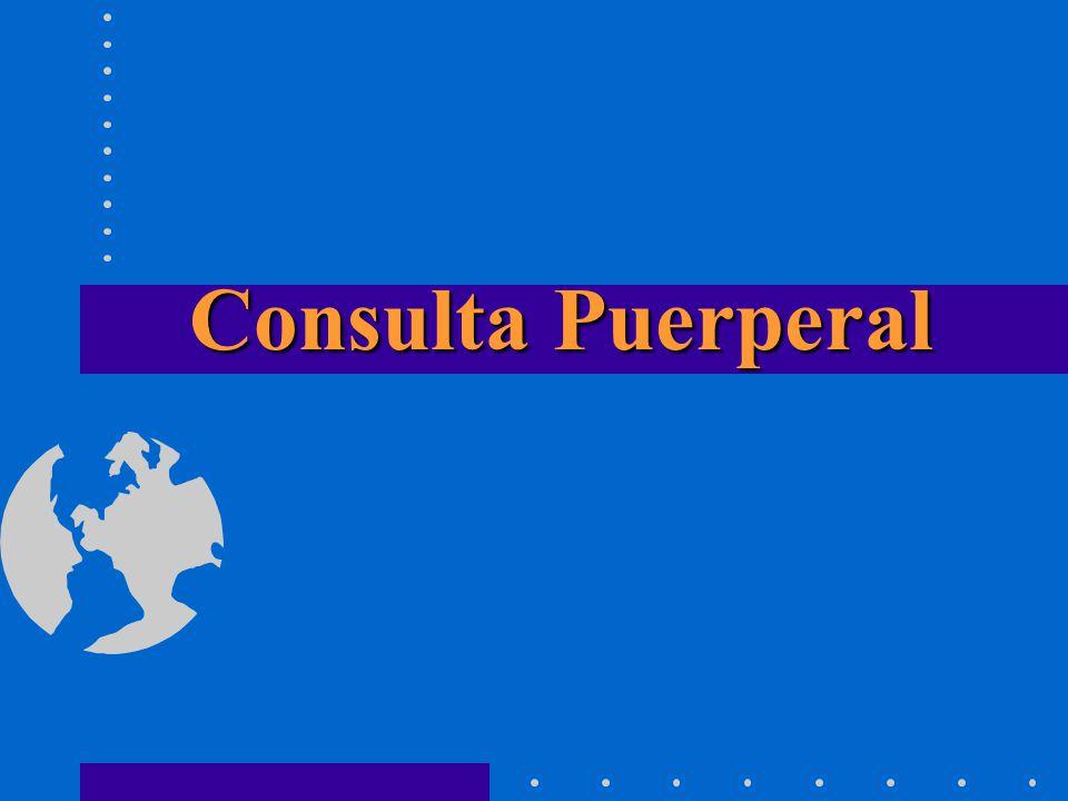 Consulta Puerperal