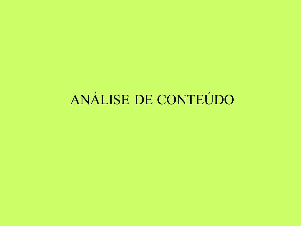 29/04/14 29/04/14 ANÁLISE DE CONTEÚDO 1