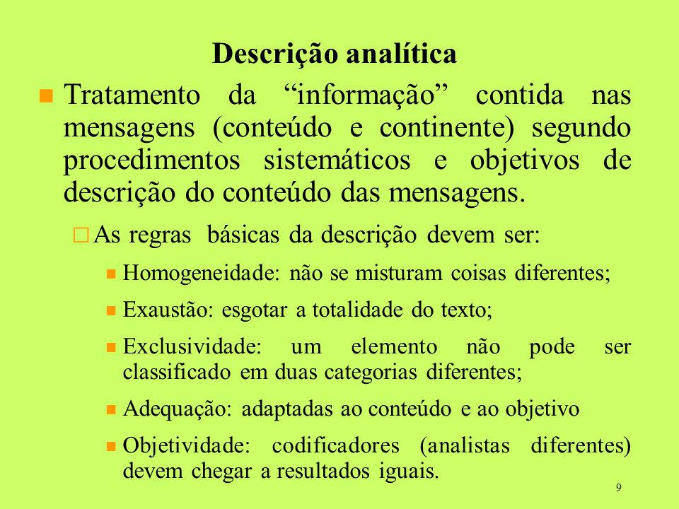29/04/14 29/04/14. Descrição analítica.