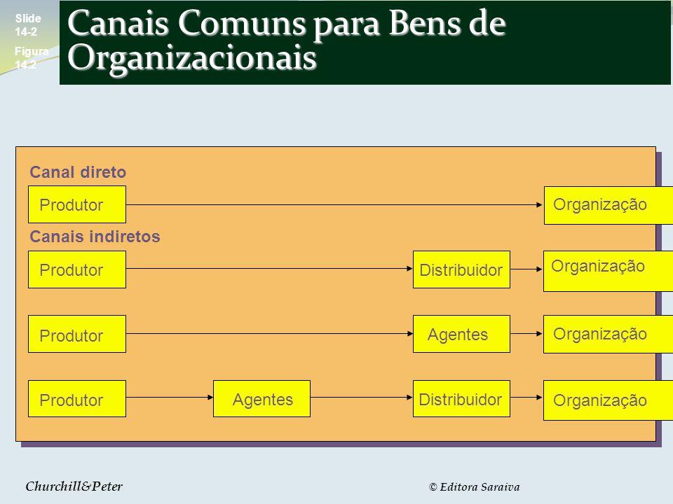 Canais Comuns para Bens de Organizacionais