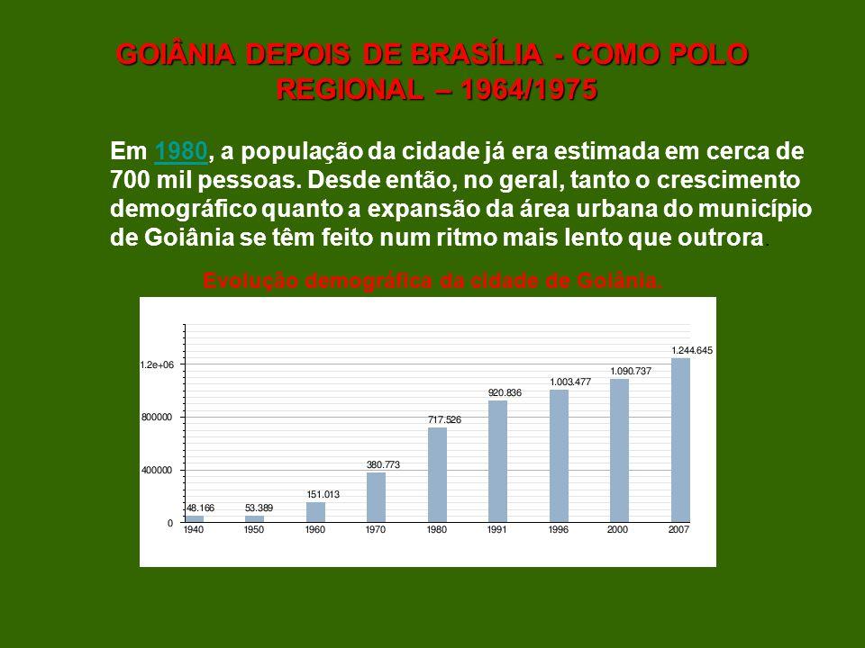 GOIÂNIA DEPOIS DE BRASÍLIA - COMO POLO