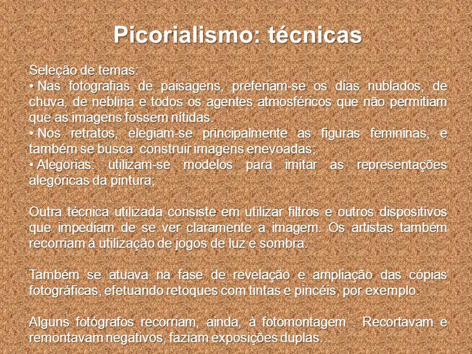 Picorialismo: técnicas