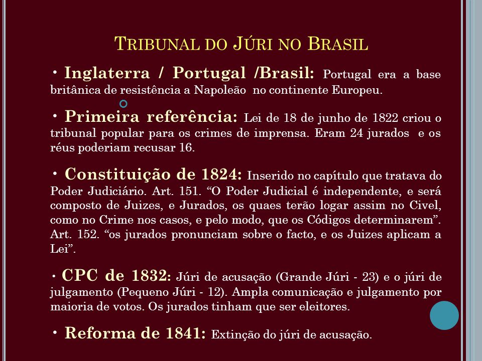 Tribunal do Júri no Brasil