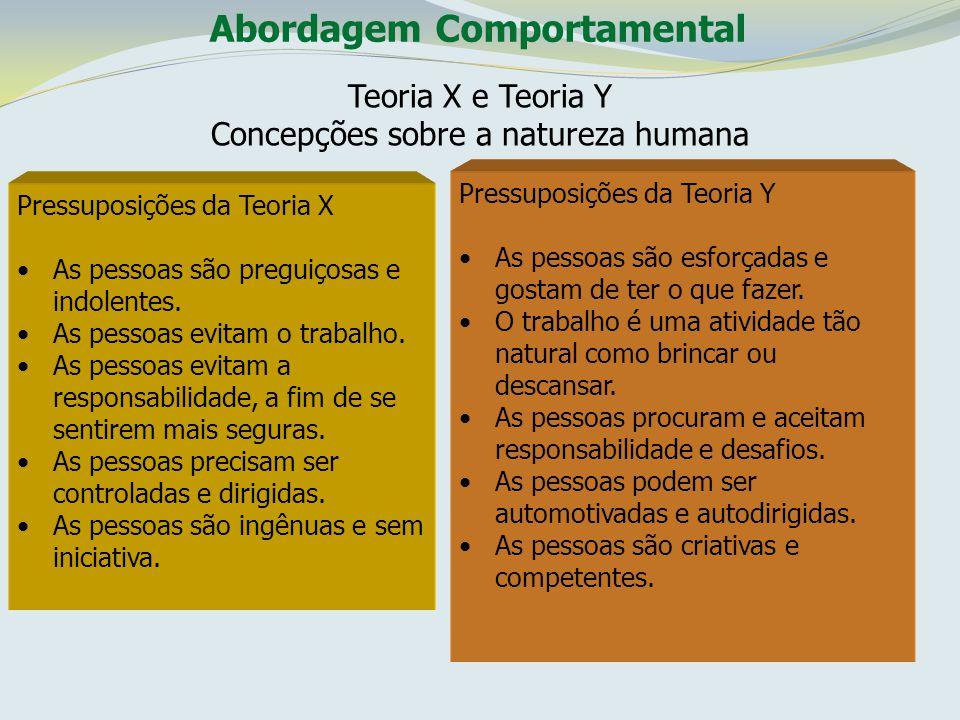 Concepções sobre a natureza humana