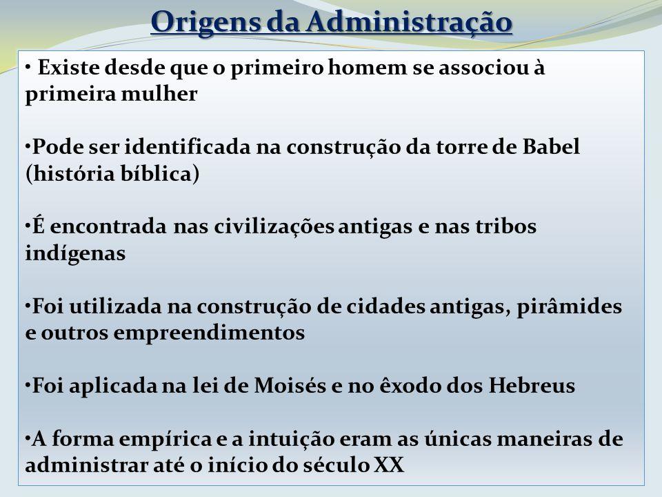 Origens da Administração