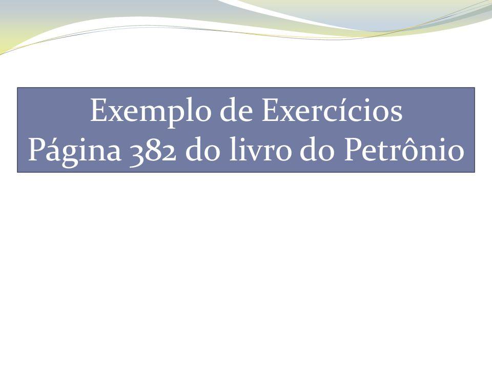 Página 382 do livro do Petrônio