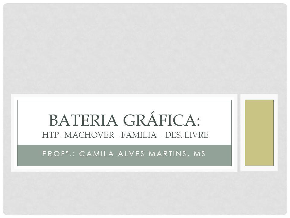 BATERIA GRÁFICA: HTP –Machover – Familia - Des. Livre