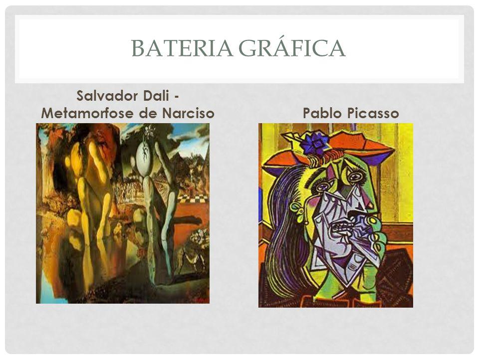 Salvador Dali - Metamorfose de Narciso