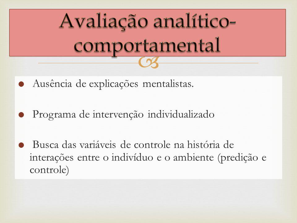 Avaliação analítico-comportamental