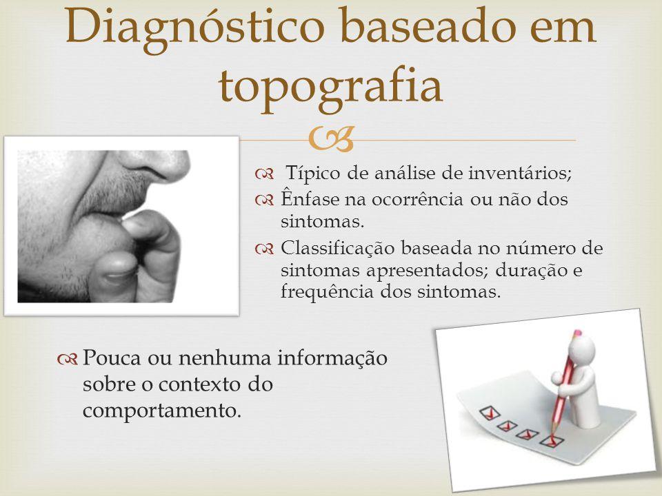 Diagnóstico baseado em topografia