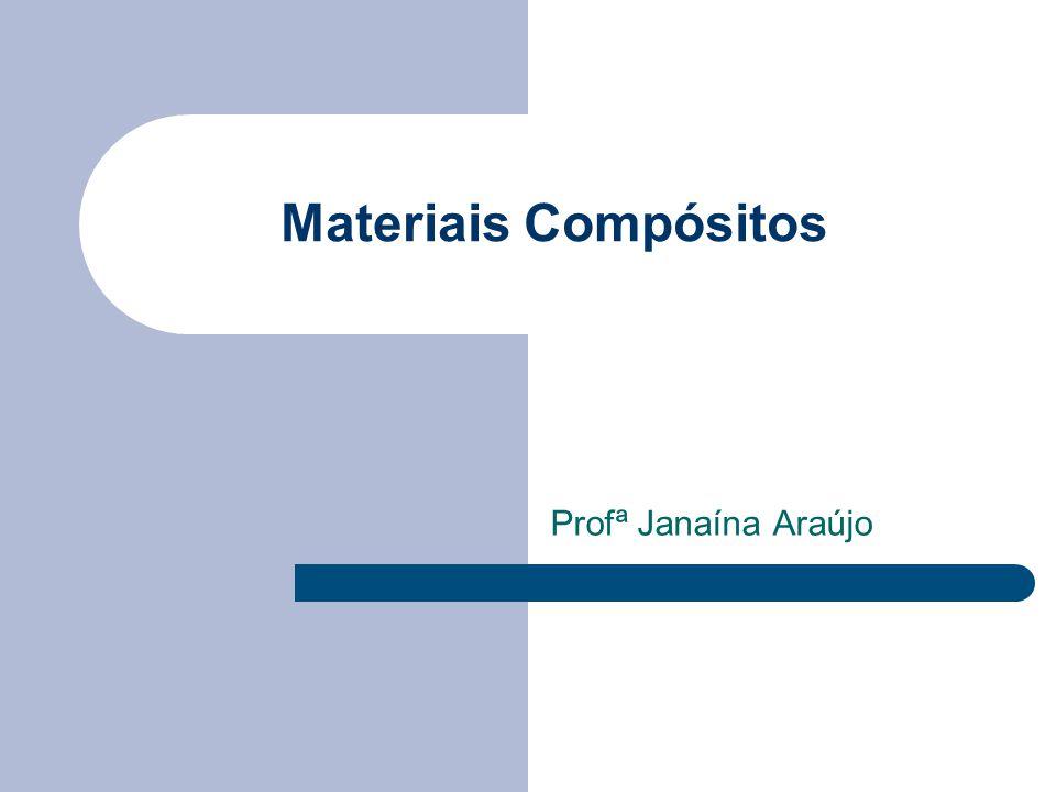Materiais Compósitos Profª Janaína Araújo