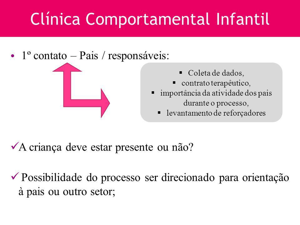 Clínica Comportamental Infantil