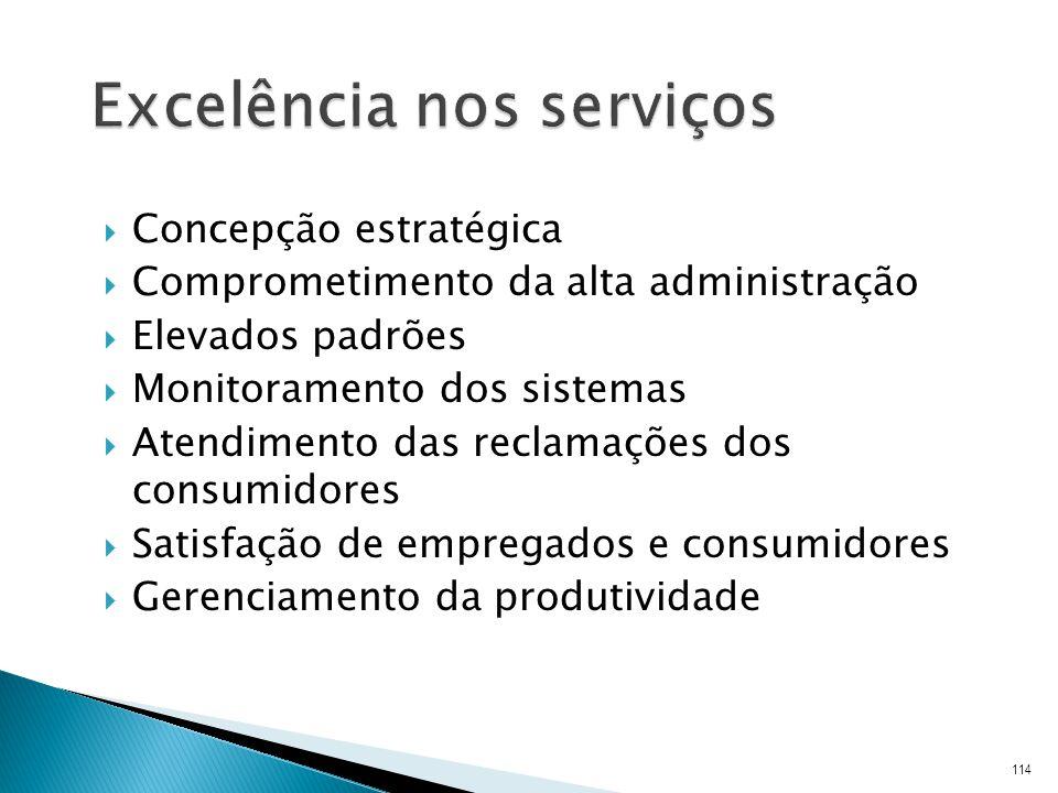 Excelência nos serviços