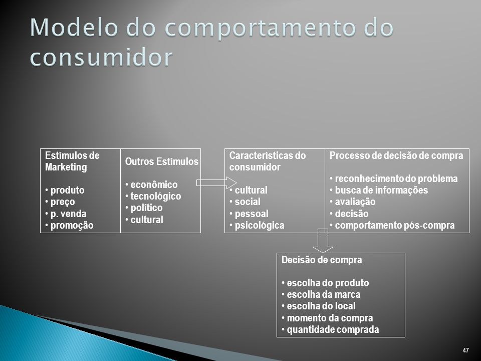 Modelo do comportamento do consumidor