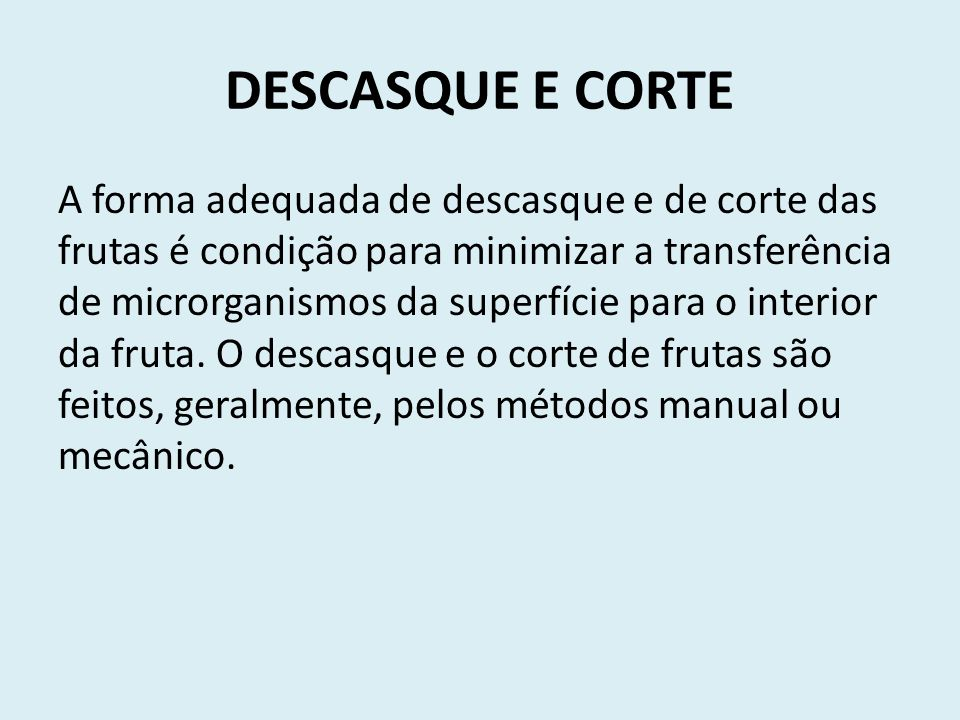 DESCASQUE E CORTE