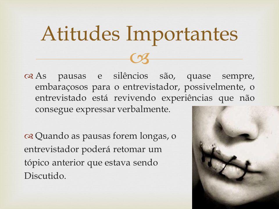 Atitudes Importantes
