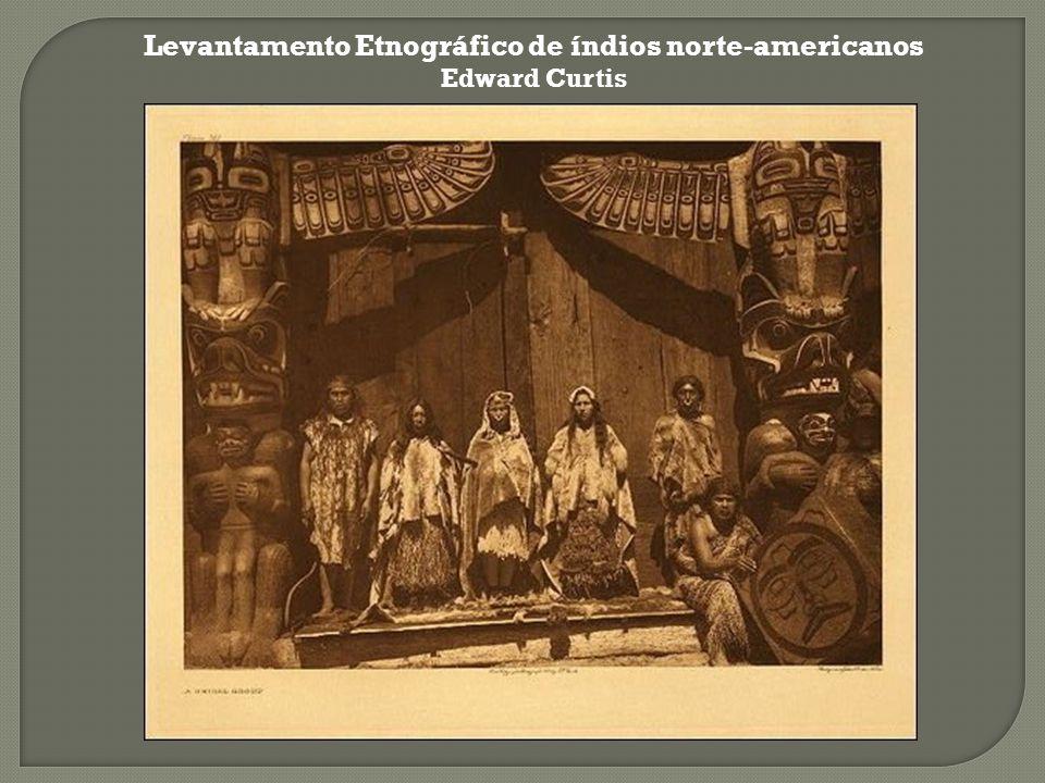 Levantamento Etnográfico de índios norte-americanos