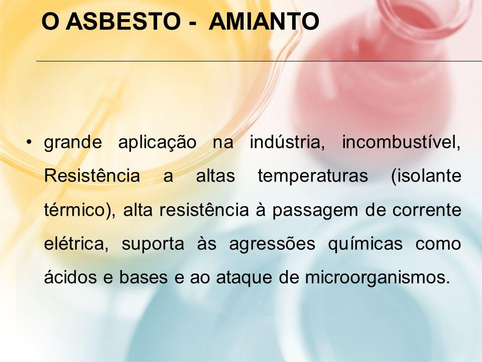 O Asbesto - Amianto