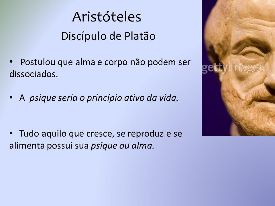 Aristóteles Discípulo de Platão