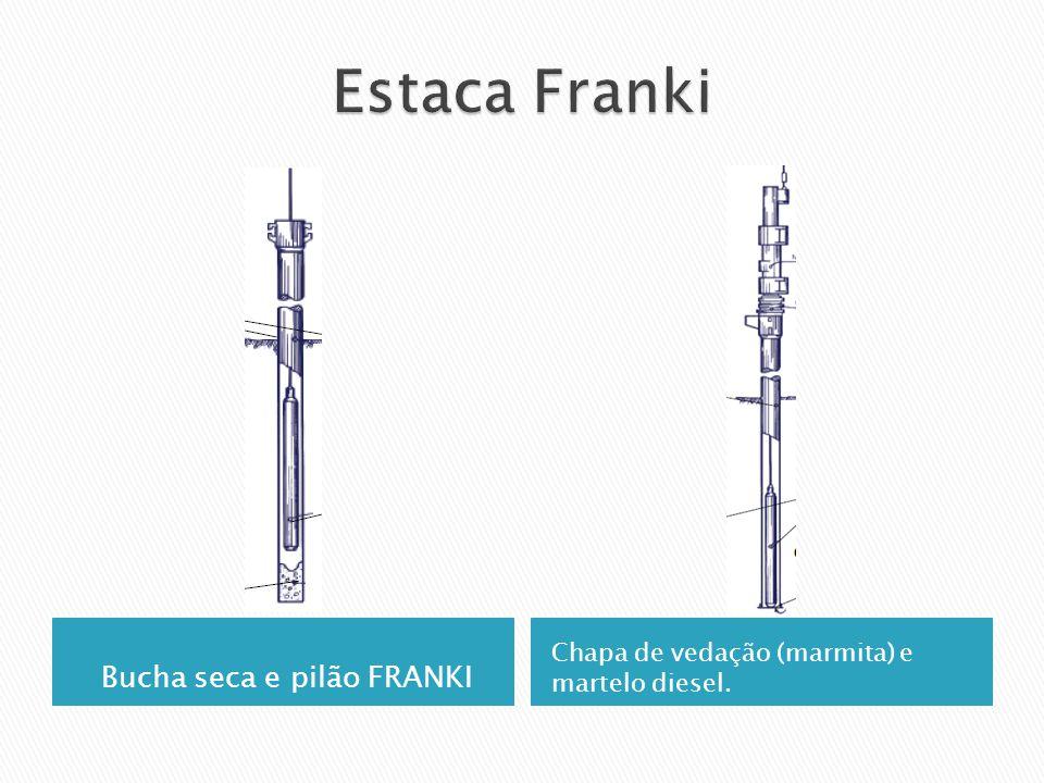 Bucha seca e pilão FRANKI