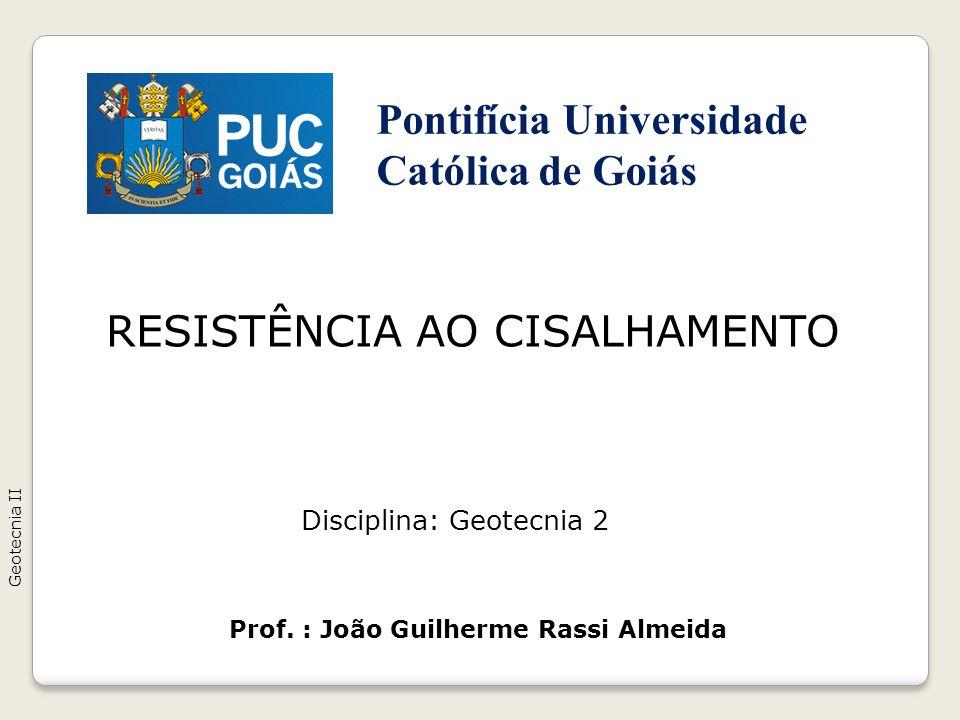 RESISTÊNCIA AO CISALHAMENTO
