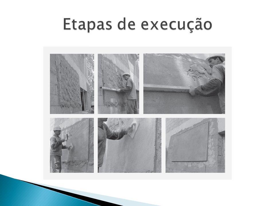 Etapas de execução