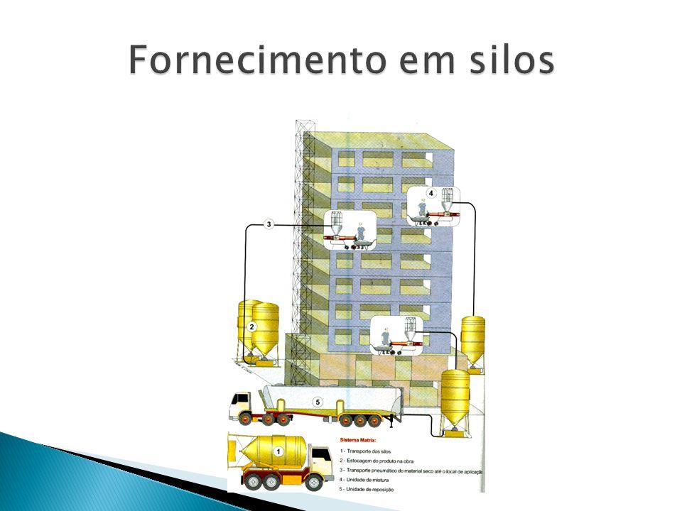 Fornecimento em silos