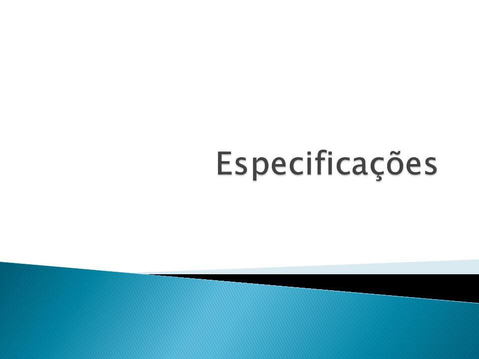 Especificações